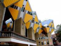Sześcienne domy w Holandii