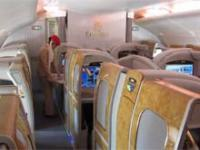 Jak wygląda przelot pierwszą klasą A380 Emirates Airlines