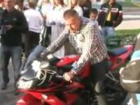 Pierwszy raz na prawdziwym motocyklu