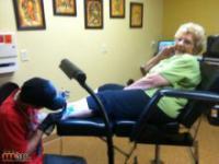 Piewszy tatuaż 83-letniej babci