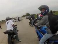 Ucieczka motocyklistów