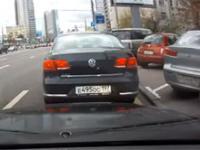 Jesienne kraksy samochodowe z Rosji