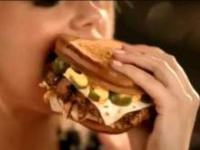 Hamburger zadwolił Kate Upton