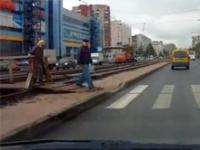 Niewielki gest rosyjskiego kierowcy