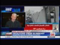 Wybuch rakiety podczas relacji Andersona Coopera na żywo z Izraela