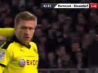 Cudowny gol Kuby w meczu Pucharu Niemiec