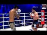 Mamed Khalidov wygrywa walkę z Kendallem Grovem