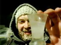 Wódka przy -40 stopniach Celsjusza