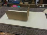 Pudełko na biżuterie domowej roboty