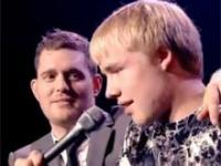 Michael Buble i 15 letni chłopak
