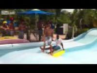 Wypadek podczas nauki surfingu