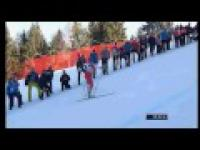 Justyna Kowalczyk wygrywa Tour de Ski po raz 4 ! Ostatni kilometr