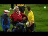 Chuligan na wózku inwalidzkim