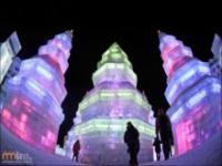Chiński pałac z lodu