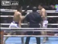 Najzabawniejsza walka Muay Thai