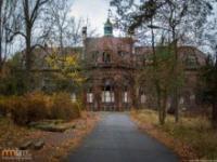 Opuszczony szpital w Niemczech
