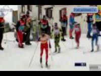 Kowalczyk miażdży Marit Bjoergen w finale sprintu w Davos
