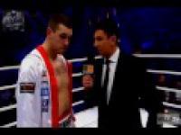 Ostry wywiad z Krzysztofem Zimnochem po wygranej walce w Polsat Boxing Night