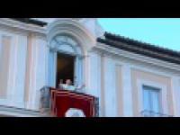 Ostatnie pożegnanie Benedykta XVI 28.02.2013