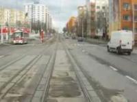 A tramwajem jeździ się tak