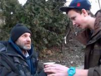 Magia Uliczna - Jak ucieszyć bezdomnego