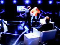 Żurom podpala się na żywo w telewizji Polsat