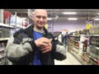 rysiek rozkręca balety w supermarkecie