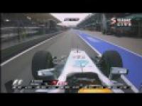Pit stop Hamiltona z dzisiejszego GP Malezji