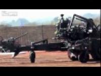 Prezentacja armaty przeciwlotniczej