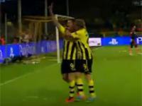Lewandowski show, Borussia rozbiła Real