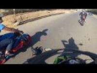Ekstremalna jazda na motorze
