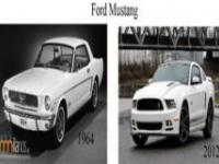 Modele samochodów dziś i dawniej