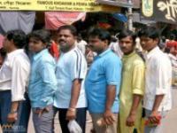 Kolejka w Indiach