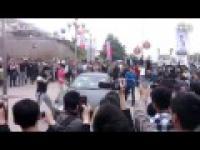 Maserati Quattroporte zniszczone w Chinach w ramach protestu