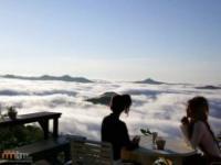 Zjawiskowy widok znad chmur