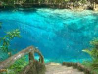 Przeźroczysta woda w rzece na Filipinach