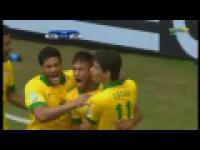 Fanastyczny gol Neymara w Pucharze Konfederacji