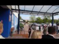 Powitanie Premiera Donalda Tuska w Elblągu