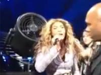 Mały wypadek Beyonce