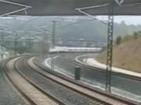 Nagranie z katastrofy kolejowej w Hiszpanii