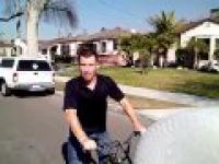 Epic Bubble Wrap rowerów