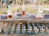 Kreatywne barki z alkoholem