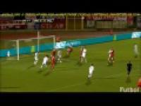 San Marino-Polska 1:3 skrót pierwszej połowy