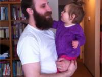 Tatuś zgolił brodę