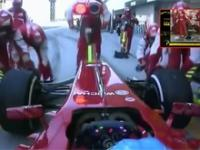 Najszybszy pit-stop w historii - Ferrari , Suzuka 2013 - 1,95 sekundy