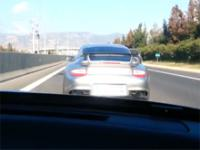 Łada (Sergio) vs Porsche 911