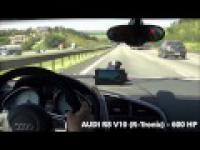 Kawasaki Ninja vs Gixxer vs Audi R8