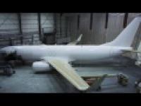 Poklatkowe Malowanie Samolotu