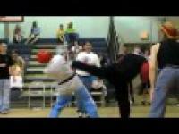 Karate i szybkie nogi