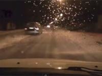 Mimo zachowania szczególnej ostrożności kierowca zginął na miejscu